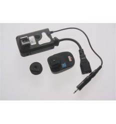 Trådløs flashtrigger Dison (8 kanals) sender + modtager (kan trigge både speedlights og flashlamper på samme tid)
