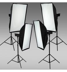 Skræddersyet Oubao Flash sæt m.4 lampe