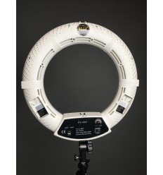 5500 Kelvin ( Yidoblo FS480 LED Ring Light 48 watt ) Drejeknap