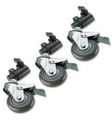 Hjul til lampe stativer