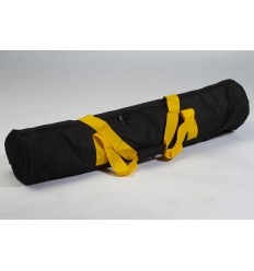 Stor stativ taske m. gul håndtag
