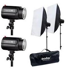 Oubao 150 komplet flash sæt - OBS NU MED 250W 0