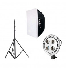 Godox Komplet Video softbox sæt m. 1 lampe