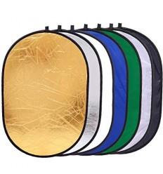 7i1 Reflektor 110 x 70 cm (Soft, Sølv, Guld, Hvid, Sort, Chroma Grøn & Chroma Blå)