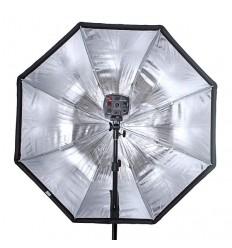 Paraply Softbox 80 Octagon - til speedlights med diffuser 0