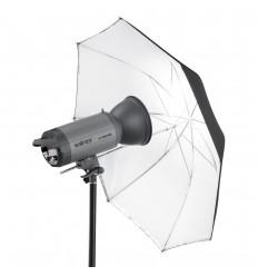 Hvid Paraply 90cm 0