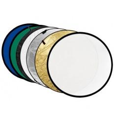 Reflektor 7i1 (Soft, Sølv, Guld, Hvid, Chroma Grøn, Chroma Blå & Wave) 80 cm 0