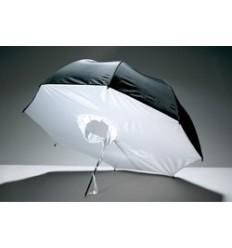Godox 84cm Paraply Softboks sort/hvid