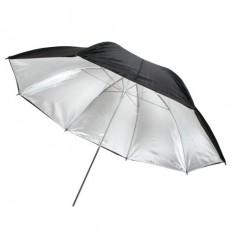 Sølv Paraply 90cm 0