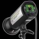 TTS II400 - 400watt Digital Flashlampe - Ledetal 64 - LED display - fjernbetjening,1 - 1/128 lysstyrke 0