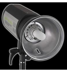 TTS II600 - 600watt Digital Flashlampe - Ledetal 82 - LED display - Indbygget trigger / Mulighed for fjernbetjening 0