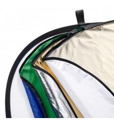 7i1 Reflektor Rund 80 cm (Soft, Sølv, Guld, Hvid, Chroma Grøn, Chroma Blå & Wave)