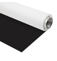 Menik Vinyl Sort/Hvid - 2,7 x 6m  - 440gr. kvm 0