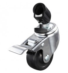 Godox LSA-06 3-pak låsbare hjul sæt til lampestativ med 22mm ben