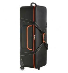 Trolley Orange/Sort - 120 x 33,5 x 24 cm