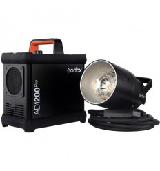 Godox AD1200Pro Flash m batteri, portable, TTL og HSS