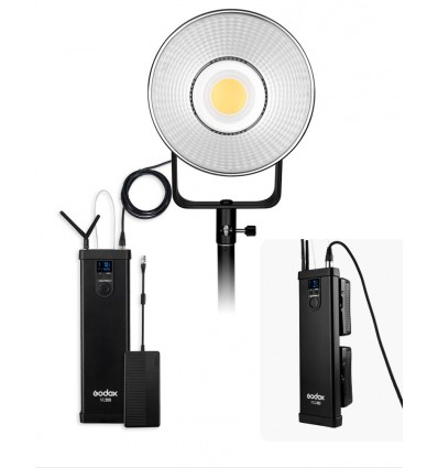 Godox VL-150 kompakt LED video lampe med fjernstyring