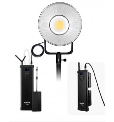 Godox VL-300 kompakt LED video lampe med fjernstyring