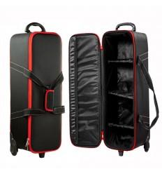 Godox Small - Stærk & ekstra beskyttende trolley taske med flere rumdelere - 78 x 24 x 24cm