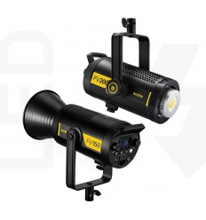 Godox FV200 kombineret flash og LED lampe med HSS, lyseffekter