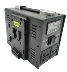 Dobbelt Lader til V-mount Batterier