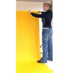 Baggrundspapir - farve: 11 Chromablue (Chroma Key)  - ekstra kraftig 6,2 kg kvalitet - knap 200 gr. pr. kvm. 1