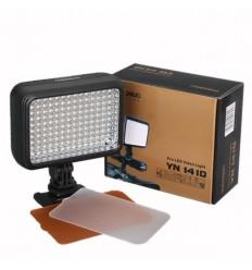 YongNuo LED1410  sæt special pris - 2 lamper og 2 batterier.