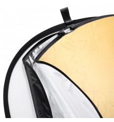 Reflektor 5i1 (Soft, sølv, guld, sort & hvid) Rund Ø110 cm 0