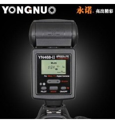 Yongnuo YN-468-II (Ledetal 33 / ISO 100) Til Canon 0
