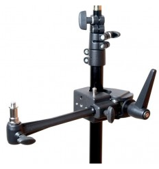 "Multi Clamp m. Spigo 1/4"" & 3/8"" & Mounting Arm"