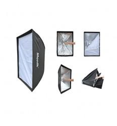 "Menik SS-10 Easy-Fold 70x100cm softbox """"Fjernlager 5-7 dage"""" 0"