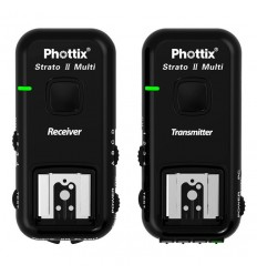 Phottix Strato II Multi 2.4GHz Trigger sæt 5i1 Nikon 0