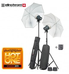 Elinchrom D-Lite RX2 Umbrella  Set TO GO