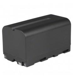 """Walimex Li-ion batteri - 7.2-7.4V - 4400mAh - NP-F750  """"""""PÅ FJERNLAGER - Leveringstid ca. 3 hverdages"""""""" 0"""