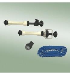 Expander holder til papirruller med kæde og vægt 0