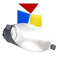 Walimex baggrundsreflektor til VC m. farvefilter