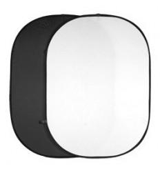 walimex 2 foldereflektorer sort/hvid 150x200 0