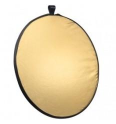 Reflektor 5i1 (Soft, sølv, guld, sort & hvid) Rund Ø60 cm