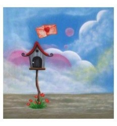 walimex pro stofbaggrund 'Love-Letter',3x6m 0