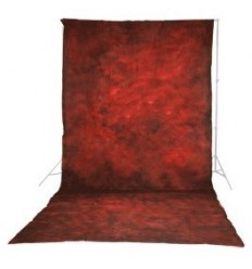 Walimex pro 'structure-red' 3x6m 0