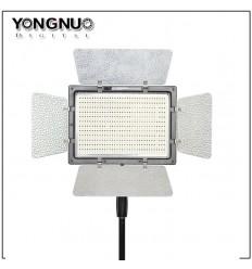 YongNuo LED 1200 m Barndoor, Fjernbetjening, vælg evt Trinløs variabel  farvetemperatur fra 3200 til 5600kelvin