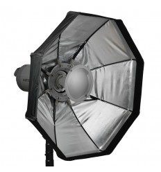 Easy Click Oktagon Softbox / Beauty Dish. S-type (Bowens)  Lampeinterface.