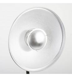 Beauty Dish, 57 cm med bicelle HVID