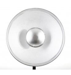 Beauty Dish, 41 cm med bicelle SØLV
