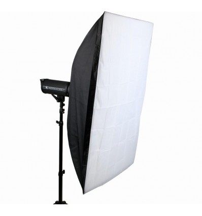 TrueWhite Softbox 80 x 120 cm - Dison S-type - Ny Model 0