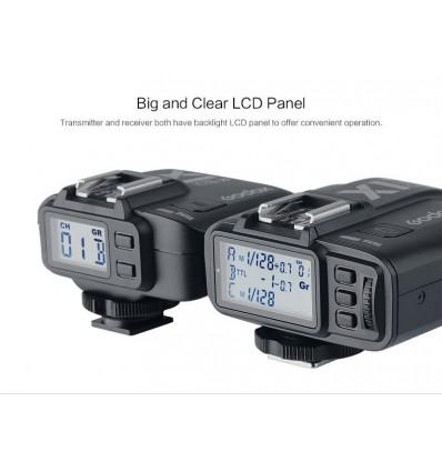 Godox X1 2.4 Ghz Trigger til Canon, Nikon, Sony, Olympus, Panasonic og Fuji 4