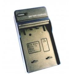 Lader til sony NP Batterier
