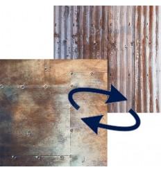 Lastolite foldbar baggrund bølgeplade / metal 1.5x2.1 m. 0