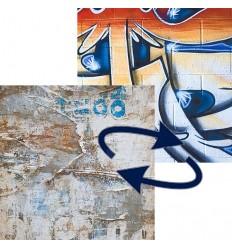Lastolite foldbar baggrund grafitti / gamle plakater 1.5x2.1 m. 0