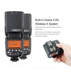 GODOX Ving 860 II Li-ion kameraflash Til Canon, Nikon, Sony, Olympus, Panasonic, Fuji 0